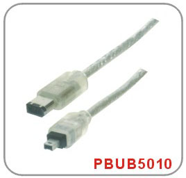 IEEE 1394 6PIN TO 4PIN HIGH-SPEED CABLE