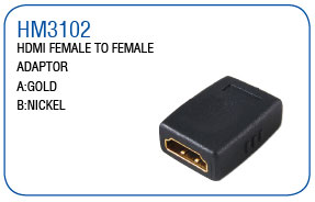 HDMI FEMALE TO FEMALE ADAPTOR