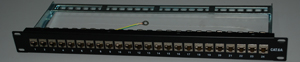 1424S-Cat6A FTP patch panel