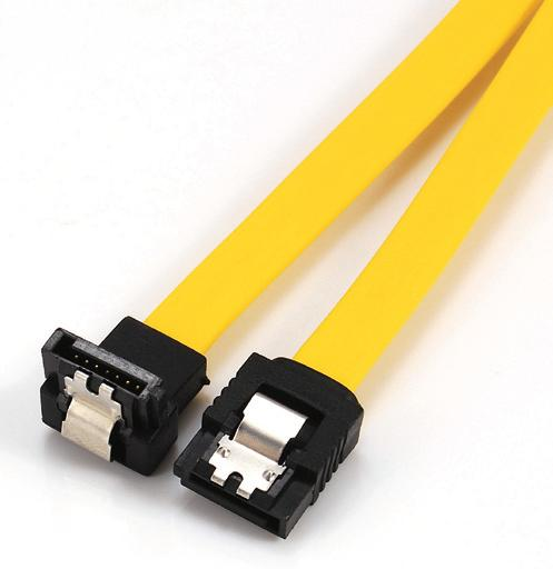 SATA III Cable,straight to down with lock