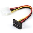 Power SATA Cables SATA 15Pin angled-power 4pin