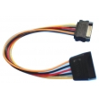 SATA 15Pin M/F Extension Cable