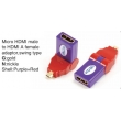 TR-13-001-9 Micro HDMI male to HDMI A female adaptor,swing type