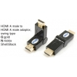 TR-13-010-1 HDMI A male to HDMI A female adaptor,swing type