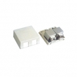 Shielded Surface Mount Box Dual Ports