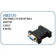 VGA FEMALE TO HDB15P MALE ADAPTOR