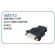HDMI MALE TO DVI (24+1)FEMALE ADAPTOR