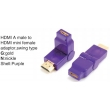 TR-13-005-6 HDMI A male to HDMI mini female adaptor,swing type