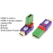 TR-13-006-9 HDMI A male to HDMI A female adaptor,rotating 360°