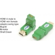 TR-13-005-5 HDMI A male to HDMI mini female adaptor,swing type