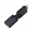 HDMI M to HDMI F 360° Adapter
