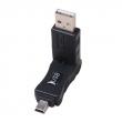 USB AM to Mini 5P 270 Degree Adapter