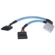 Power 4pin to power SATA Cable