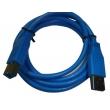 1.8M USB3.0 A/M to B/M blue