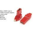 TR-13-002-2 Micro HDMI male to HDMI A female adaptor,rotating 360°