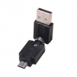 USB AM to Micro 360° Adapter