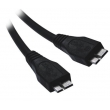 1.8M USB3.0 Micro A/M to Micro B/M black