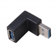 USB 3.0 A Male TO A Female 90° Angle ADAPTOR