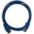 USB 3.0 AM TO AF BLUE