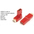 TR-13-006-2 HDMI A male to HDMI A female adaptor,rotating 360°
