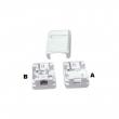 Mount Box Dual Ports W/O Shutter
