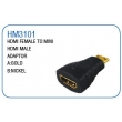 HDMI FEMALE TO MINI HDMI MALE ADAPTOR