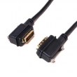 90 Degree angled DVI Cable