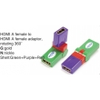 TR-13-008-9 HDMI A male to HDMI A female adaptor,rotating 360°